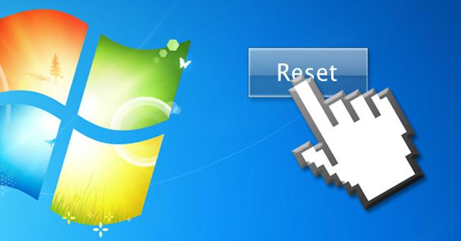reset máy tính windows 7 hình 1