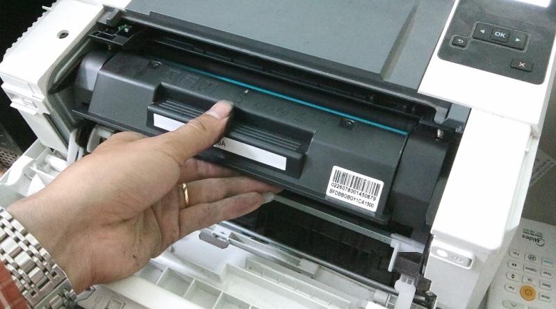 Sửa lỗi tràn mực máy in hình 2